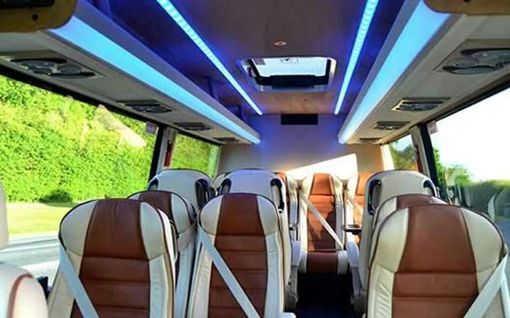 Party Minibus Inside Hire Cork